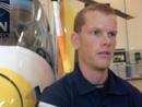 Airlift crew member on transporting injured tiger handler
