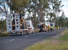WORK colleagues of Toowoomba truck driver Athol Jacobsen, 55, have been offered counselling as they try to come to terms with his tragic crash death.