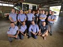 THE Gladstone's Queensland Fire and Rescue Service's Movember campaign has seen them raise $2000 for men's health – a step up from last year's efforts.