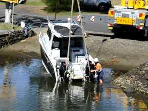 Fishery Creek boat rescue