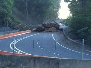 Work on rocky road continues, causing short closures