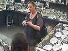 The CCTV shot shows the woman the police are seeking.