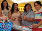 Volunteers will wrap your Christmas prezzies for a gold coin