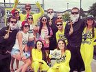 EX-COMMUNICATED: Daniel Woodhead claims he and three friends were kicked out of Stereosonic in Melbourne for their priest costumes.
