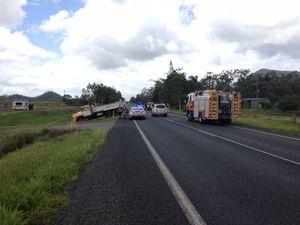 Crash near Mackay closes Bruce Hwy