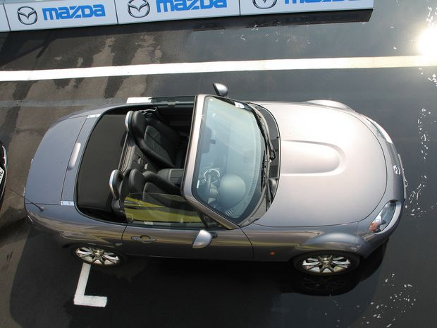 An open top car.