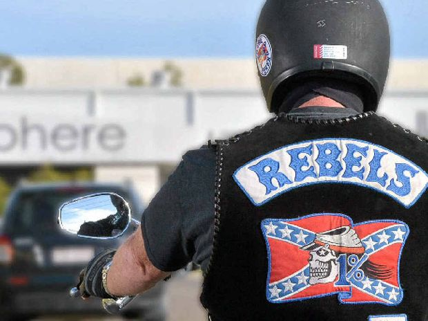 Two motorcyclists wearing 'Rebels' Criminal Motorcycle Gang clothing travelling were allegedly involved in an incident with another vehicle at Caboolture.