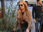 Fitness freak Lindsay Lohan