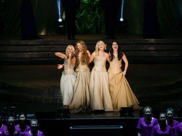 Celtic Woman at the Brisbane Entertainment Centre last night.