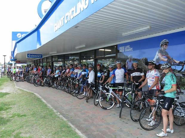 The Wednesday weekly Business Cycles networking rides are proving popular. They leave from the Giant Sunshine Coast shop in Mooloolaba.