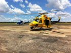 RACQ CareFlight Rescue has airlifted a 22-year-old woman from Fraser Island after she suffered a marine sting.