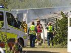 House fire at 159 Ossian St Murphys Creek . Photo Nev Madsen / The Chronicle
