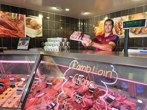 Manager of Kin Kora Meats Scott Avis.