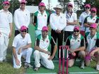 Cricketers go pink for a cause