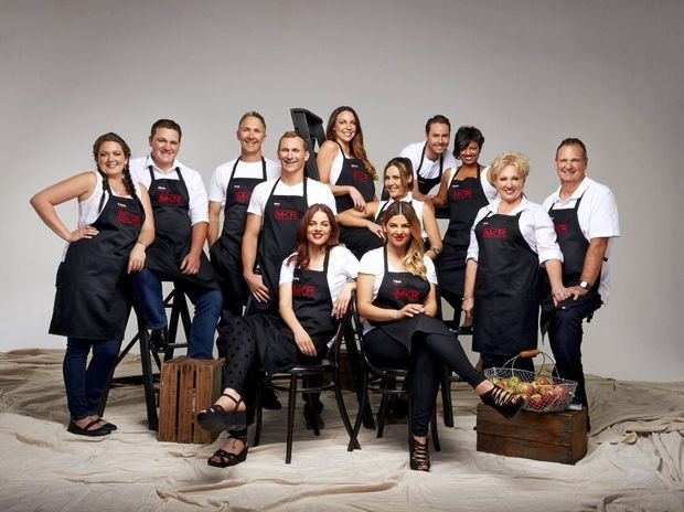 The contestants from the first instant restaurant round of My Kitchen Rules season 5. Supplied by Channel 7.