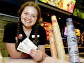THE cost of going to see a movie in Ipswich is continuing to fall as price wars heat up in the local cinema industry.