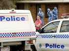 Police at a home in Newtown, Toowoomba, where a mother and her 12-year-old have been fatally stabbed.