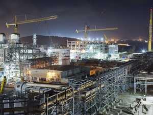 Santos GLNG marks 75% completion
