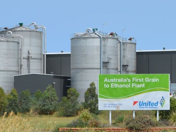 IN LIMBO: Dalby's bio-refinery could soon be closed, according to owners United Petroleum.