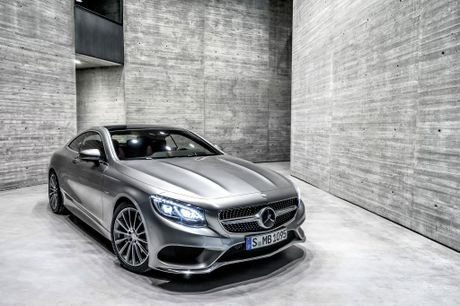 The Mercedes-Benz S-Class Coupe.
