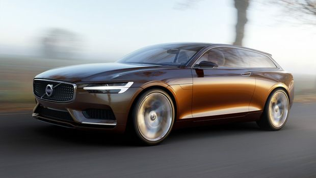 The Volvo Concept Estate.