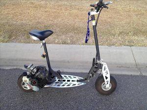 When is a bike not a bike? When it has a petrol motor