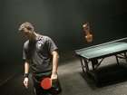 Video: Ping pong champion versus robot