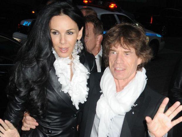 Sir Mick Jagger and L'Wren Scott