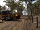 Burrum man lucky to have a home after national park fire