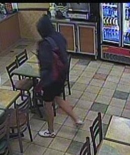 A teenage boy mopping the floors at a fast food outlet in Caboolture last night sustained a deep laceration to his hand during an armed robbery by a man wearing a Spiderman mask.
