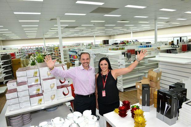 Home Secret set to open. Matthew Mackenzie and Emma Rodda. Photo: Warren Lynam / Sunshine Coast Daily