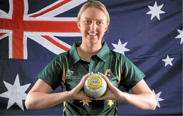ANOTHER CHANCE: Kelsey Cottrell hopes to add Commonwealth Games gold to her bronze snared in Delhi.