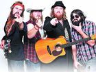 HAIR BAND: The Beards are looking to recruit more of their kind in their upcoming Australian tour.