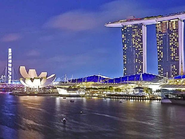 DELIGHTFUL: Marina Bay Sands is spectacular, but discover more of Singapore with your own culinary celebrity concierge.