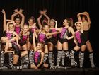 DANCE ACTION: Casino Dance Academy striking a pose in Modern, Cabaret or Jazz Style at the Grafton Dance Eisteddfod. Photo Adam Hourigan