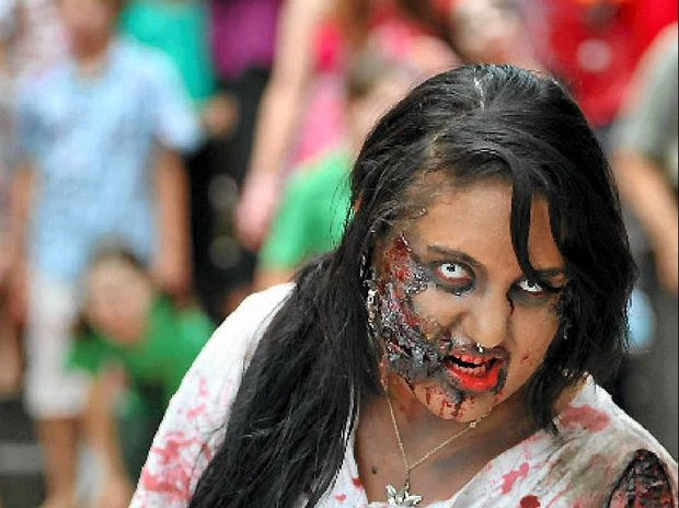Gladstone's first Zombie Quest Walk took place on Saturday as part of the region's National Youth Week activities.