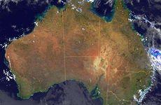 Radar image for Cyclone Ita.