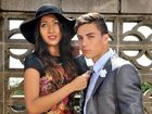 Gladstone stores Divine Avenue and Cavaliers Menswear and Suit Hire have outfits perfect for the races. Charisse Jones and Josh Hughes showcase styles on offer.
