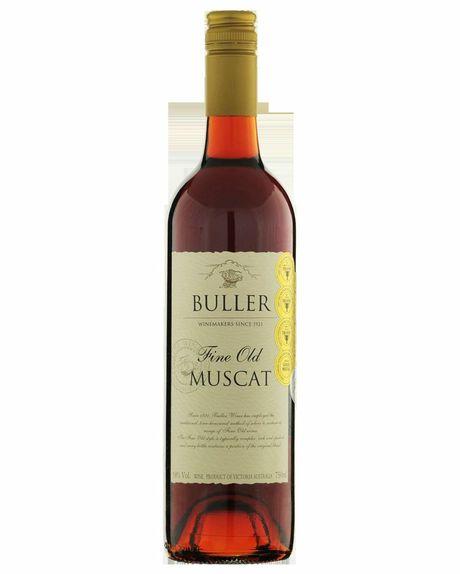 Bottle of Buller Fine Old Muscat.