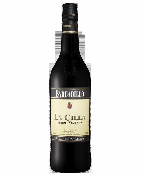 Bottle of Barbadillo La Cilla Pedro Ximenez.