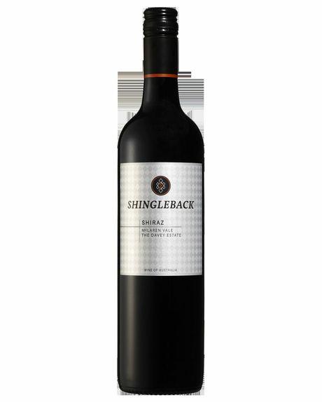 Bottle of Shingleback Davey Estate Shiraz.