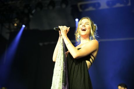 Joss Stone at Byron Bay Bluesfest 2014. Photo : Mireille Merlet-Shaw/The Northern Star