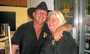 Vicki Havis and Wayne Judas.