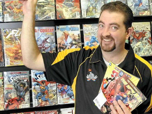 FREE COMIC BOOKS: Kaboom Comics owner Todd Baillie is excited to be celebrating Free Comic Book Day for the 10th year in a row.