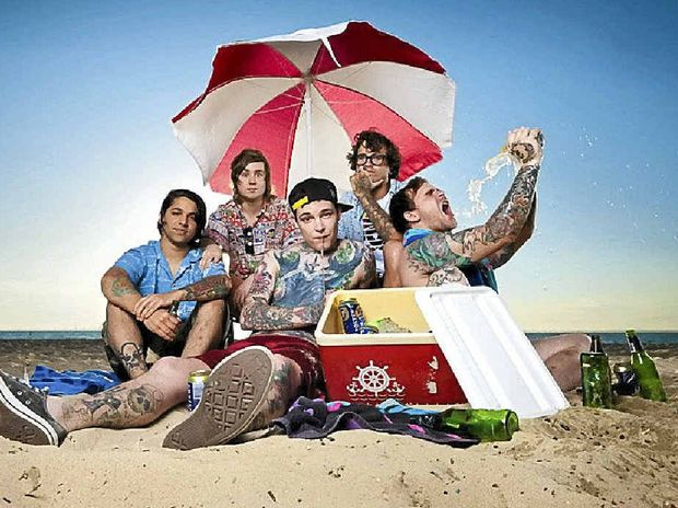 If the reception of their first single release from their latest album is anything to go by, Gympie band The Amity Affliction's fourth album is set to climb the charts quickly.