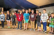 GOOD CATCH: Junior prize winners at the Boyne-Tannum HookUp, Boyne Island.