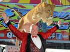 CIRCUS: Stardust Circus' ringmaster Adam St James will open the show today in Cannonvale.