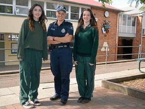 Reassuring presence at Lockyer District High School