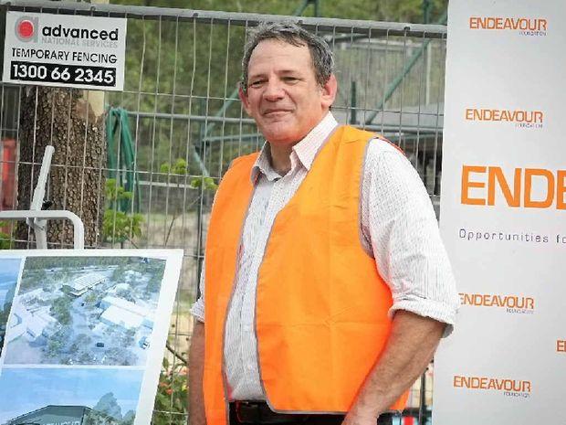 Endeavour Foundation CEO David Barbagallo.