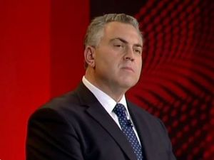 Joe Hockey jeered on Q&A as he denies breaking promises
